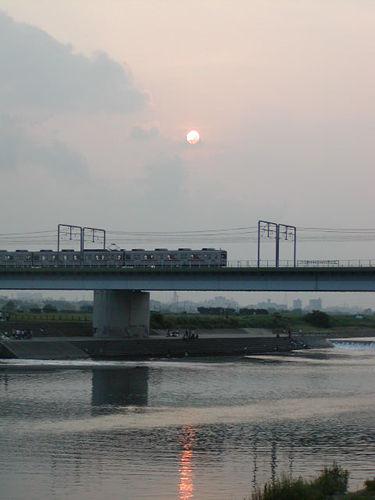 東急多摩川の橋