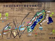 武蔵大和駅自転車道