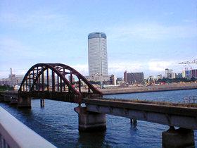 貨物線の鉄橋