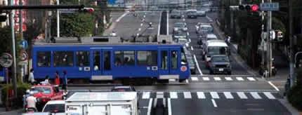 世田谷線・若林踏切