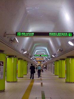 都営地下鉄・飯田橋駅