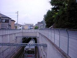東急大井町線・地下化跡
