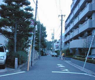 新奥沢駅の跡を発見