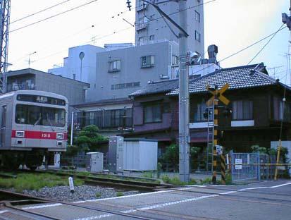 新奥沢駅と奥沢駅