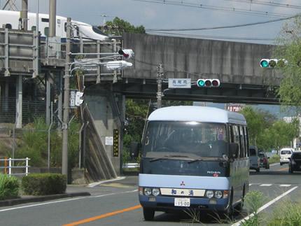 駿遠線架線橋