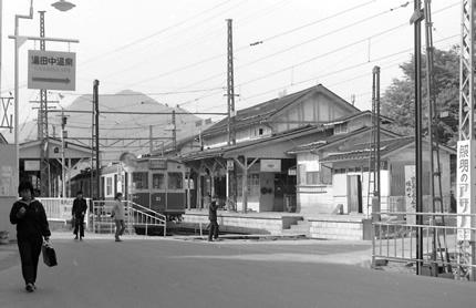 長野電鉄湯田中駅
