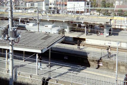 地上の大岡山駅