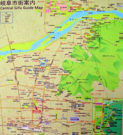 金公園の地図