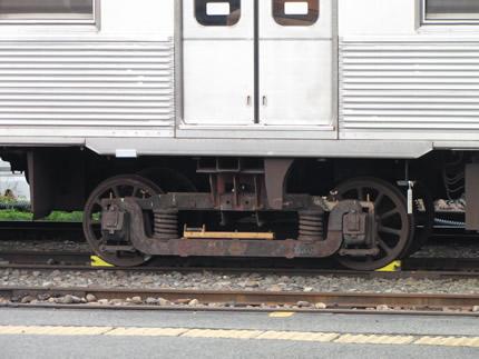 長野電鉄古い台車