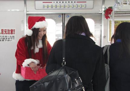 十和田観光電鉄車内