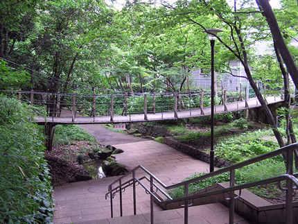 石神井川吊り橋