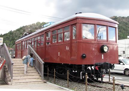 富士山麓電気鉄道モ1