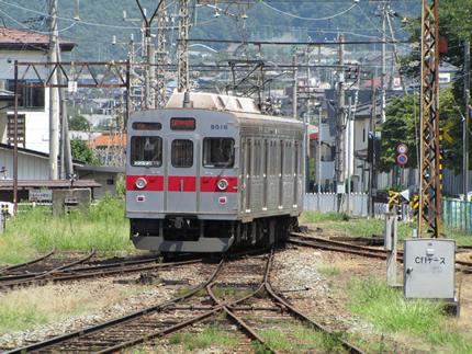 長野電鉄8500、中間車改造