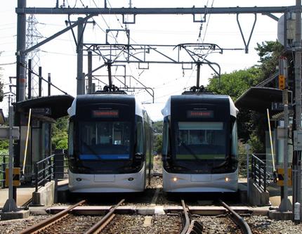富山ライトレール大広田駅