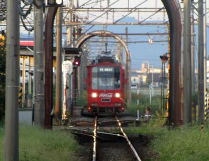 福井鉄道専用線