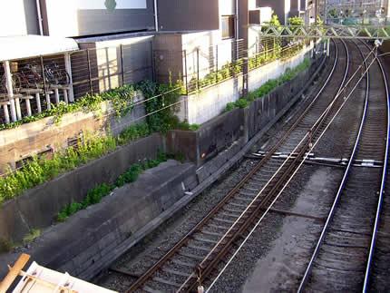 六郷橋駅跡