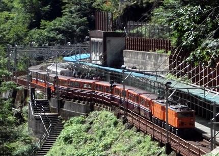 黒部峡谷鉄道欅平