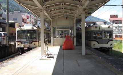 富山地鉄宇奈月駅