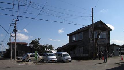 頸城鉄道本社跡