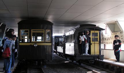頸城鉄道車庫跡