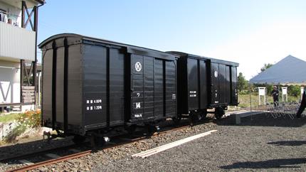 頸城の貨車