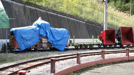 向ヶ丘遊園の電気機関車