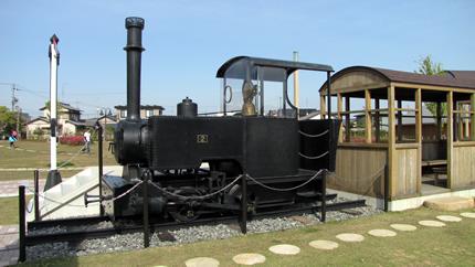 駿遠線2号機関車