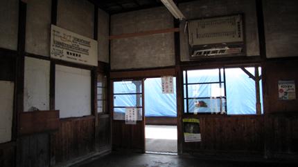 長野電鉄信濃川田駅