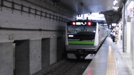 横浜線のE233