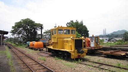 長良川鉄道・美濃市
