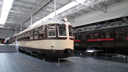 リニア鉄道館モハ52