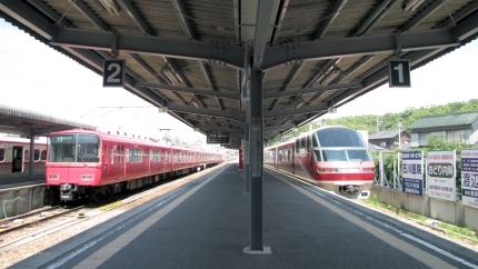 名鉄河和駅
