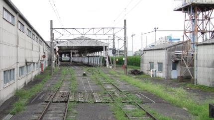 西武所沢工場跡