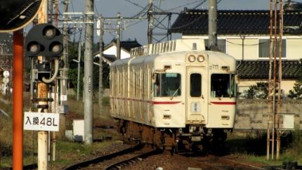 一畑電鉄川跡駅