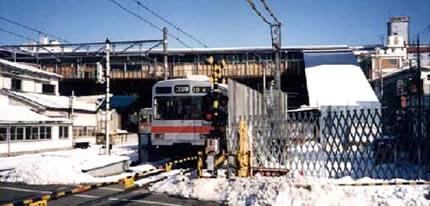 昔の大岡山駅