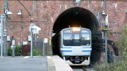 田浦トンネルと七釜トンネル