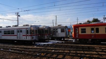 長野電鉄須坂駅