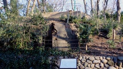 加賀藩下屋敷築山