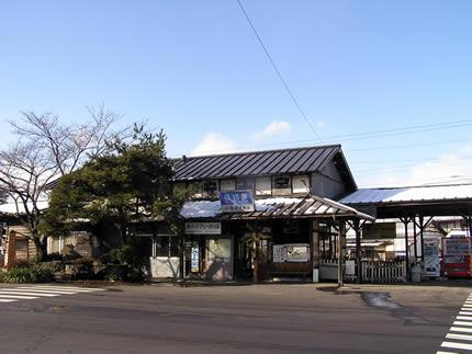 長野電鉄松代駅
