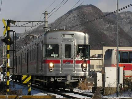 長野電鉄松代3000系