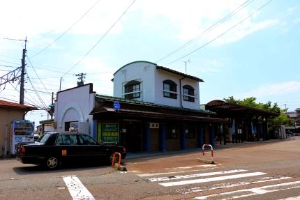 北陸鉄道浅野川線内灘駅