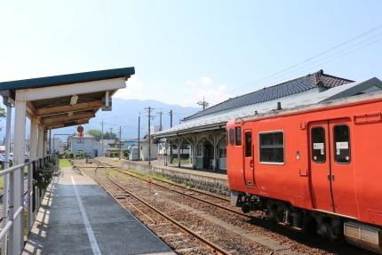 JR城端駅