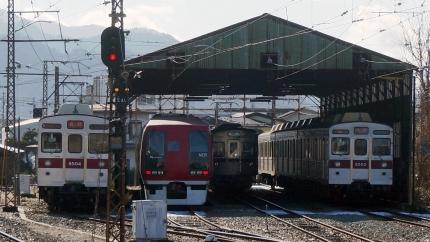 長野電鉄 須坂駅