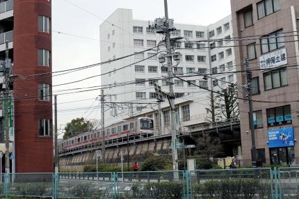 東急東横線 東白楽