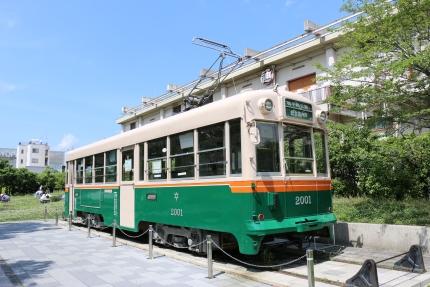 梅小路公園 京都市電