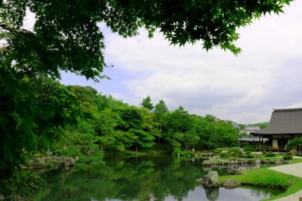 嵐山天竜寺庭園
