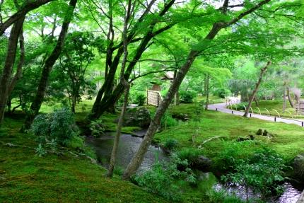 嵐山宝厳院庭園