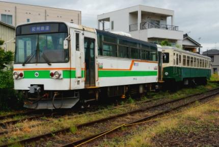紀州鉄道 西御坊駅