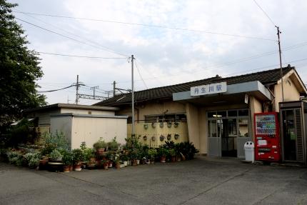 三岐鉄道 丹生川駅