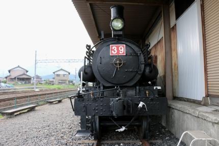 丹生川 貨物鉄道博物館 東武鉄道39号樹